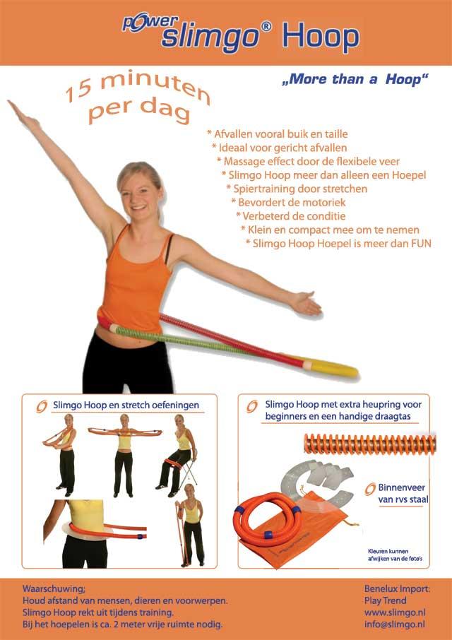 Slimgo hoepel de smart flexibele nieuwe hoepel. Fitness en ...